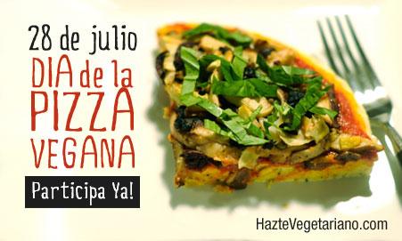 Concurso del Día de la Pizza vegana