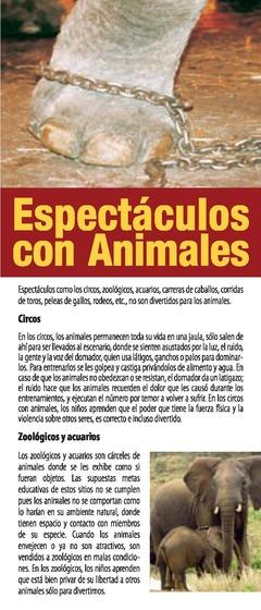 Espectáculos con Animales