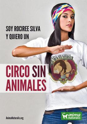 La modelo y bailarina de origen wayuu invita a que te unas a las campañas de AnimaNaturalis en Chile, Venezuela y toda iberoamérica