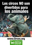 Los Circos no son divertidos para los Animales