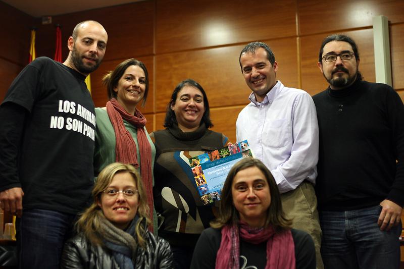El alcalde y regidores de ICV-EUiA de La Llagosta