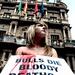 AnimaNaturalis protestó en Pamplona I09-65461