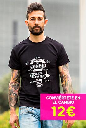 Camiseta - Conviértete en el Cambio que Quieres Ver en el Mundo