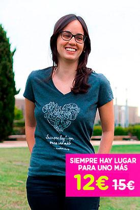 Camiseta - Siempre hay lugar para uno mas