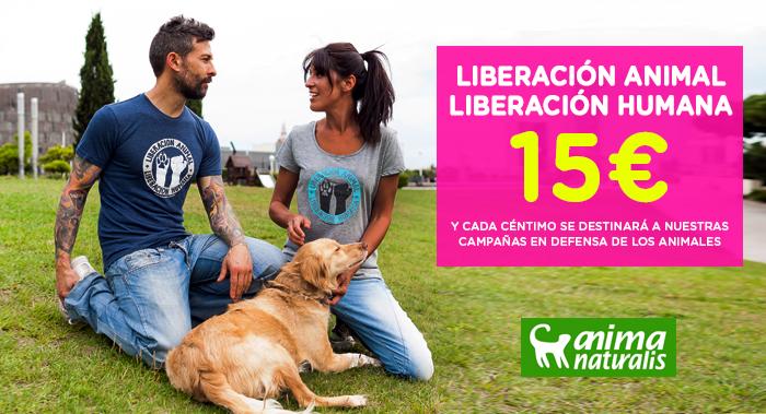 Camiseta - Liberacion Animal Liberacion Humana