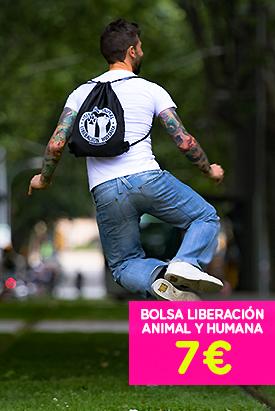 Camiseta - Bolsas animalistas
