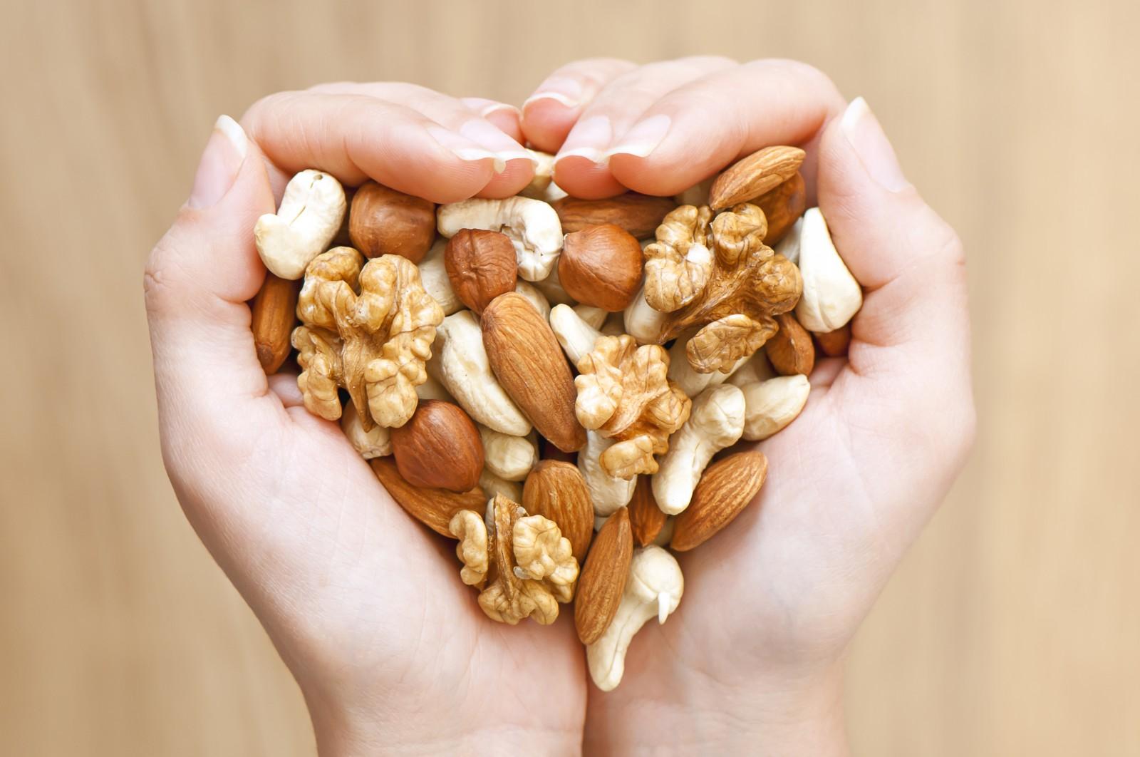 La importancia de los frutos secos en la alimentación