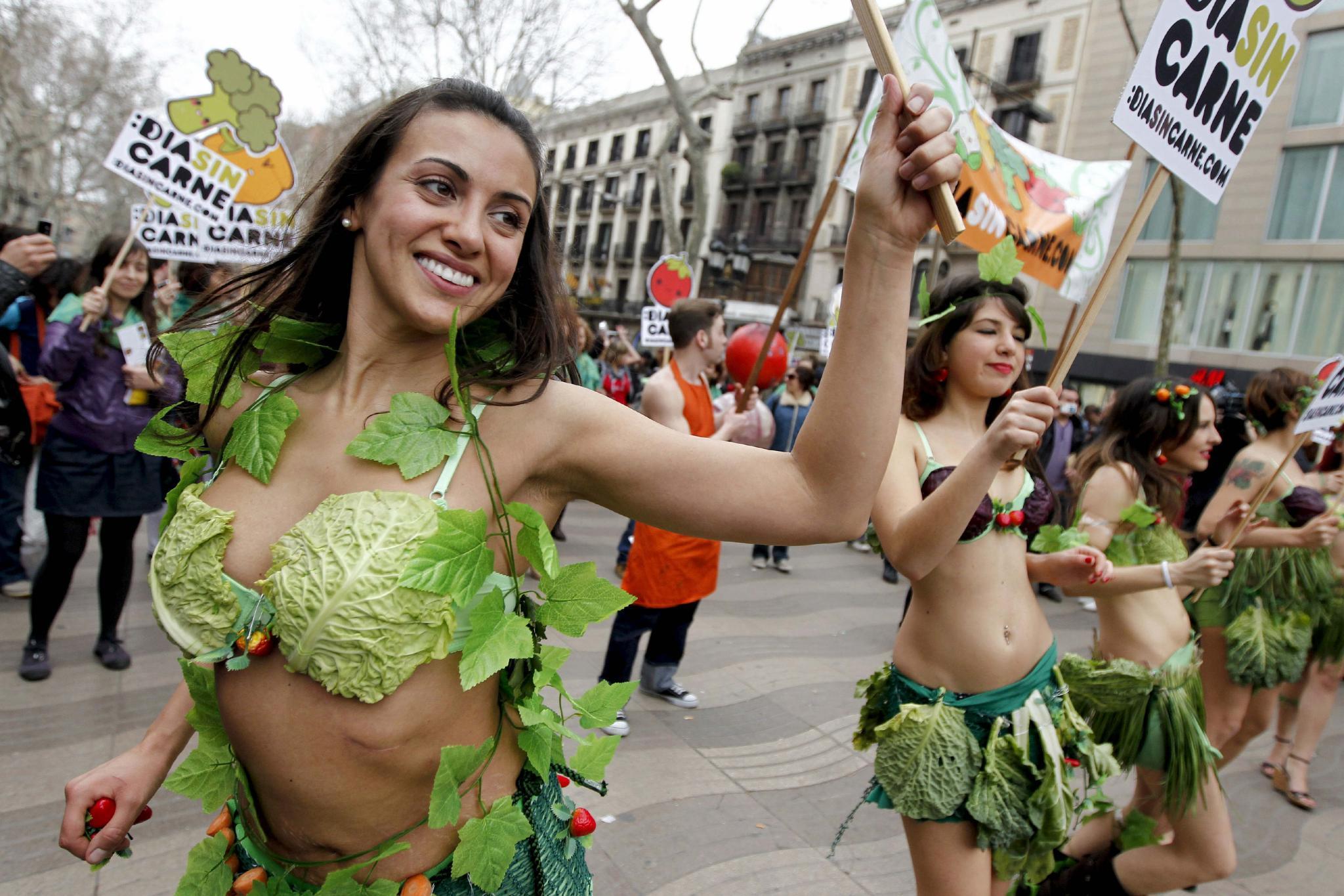 AnimaNaturalis celebra el Día Sin Carne en Barcelona