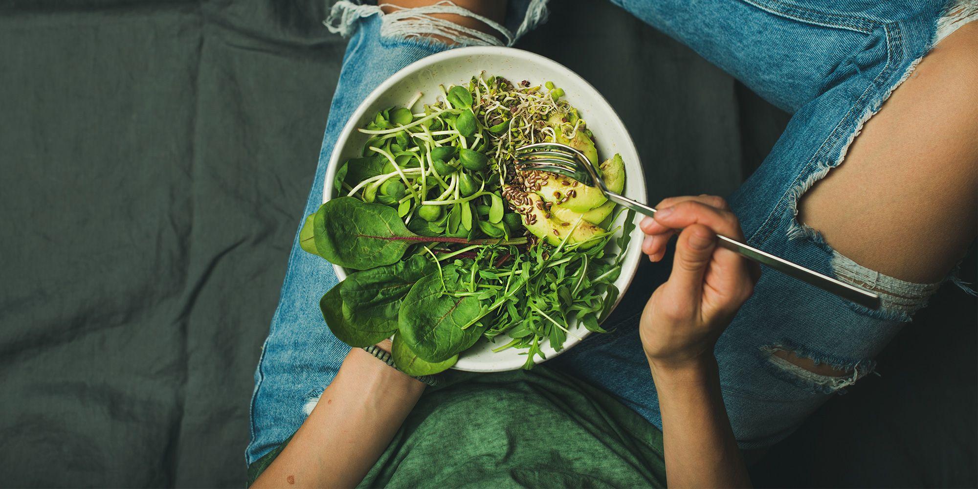 Bajar de peso con una dieta vegetariana