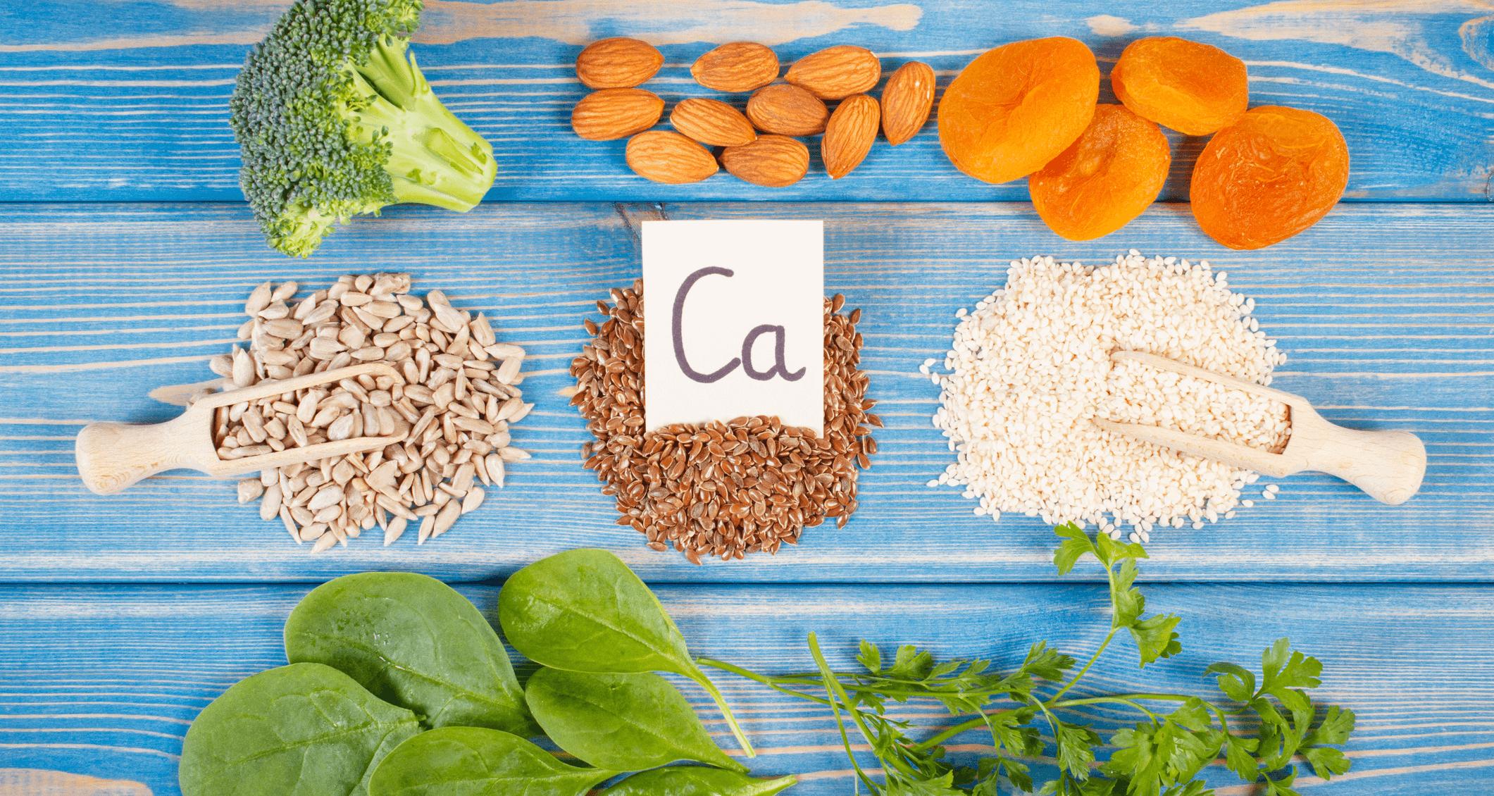 El calcio en una alimentación vegetariana estricta