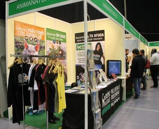 AnimaNaturalis difunde los derechos de los animales en BioCultura Barcelona