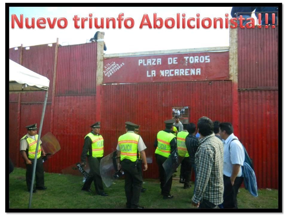 Nuevo Triunfo Abolicionista en Sangolquí, Ecuador.