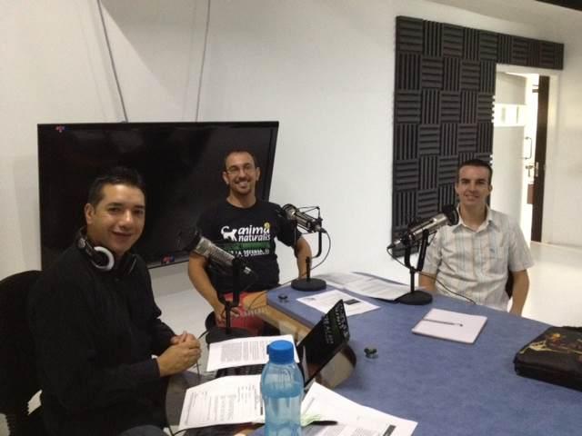 """AnimaNaturalis en programa radiofónico """"El Expresso de las 10"""""""