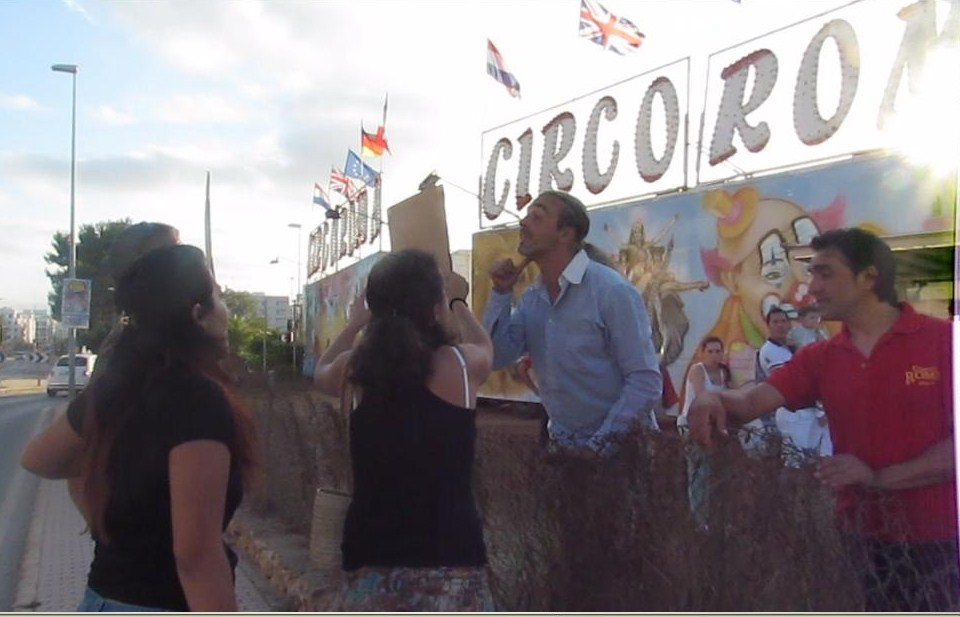 Activistas de AnimaNaturalis agredidos por el Circo Roma
