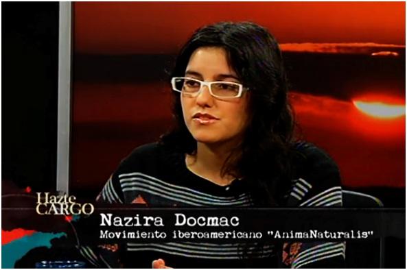 AnimaNaturalis habla acerca de la realidad de los animales en Chile en el programa Hazte cargo