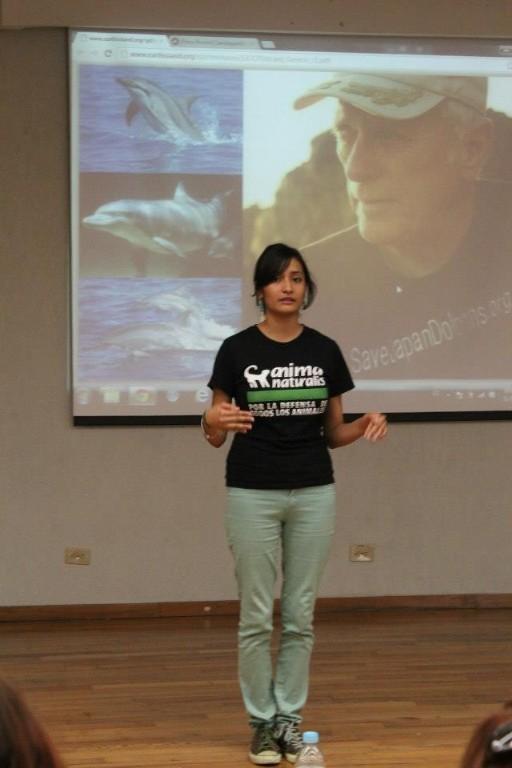 """AnimaNaturalis participó en el """"Save Dolphins Day"""" en Monterrey"""