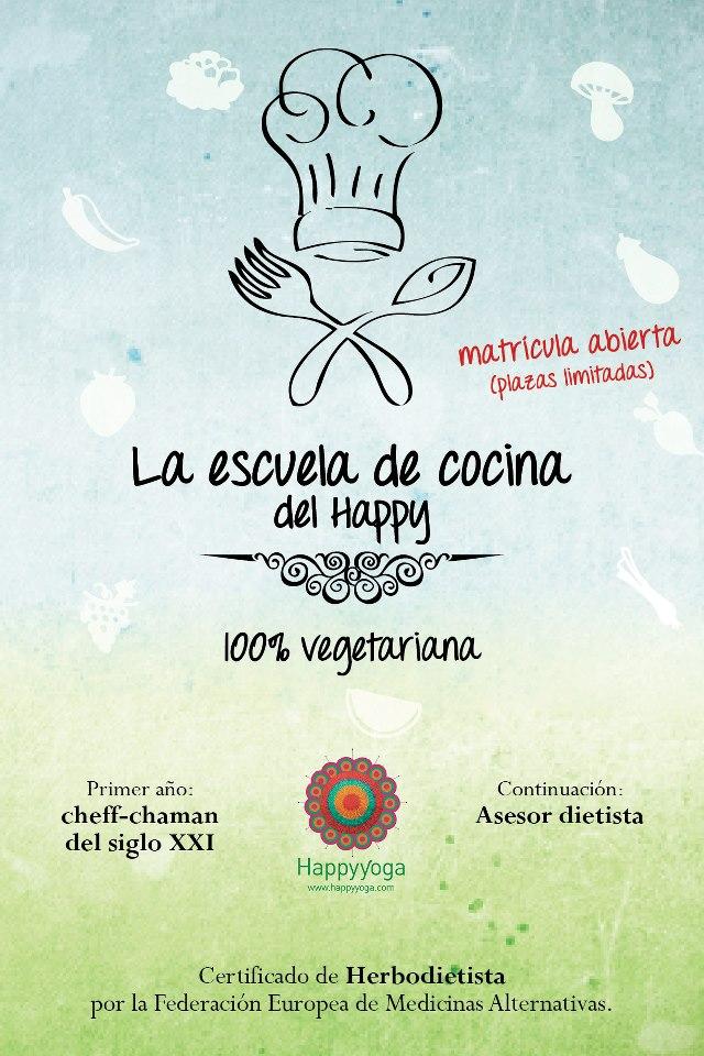 Matr cula abierta para la escuela de cocina 100 - Escuela de cocina vegetariana ...