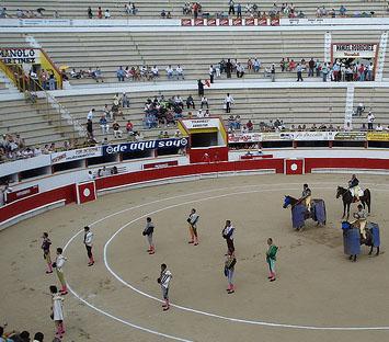 El número de corridas de toros en España descendió un 41% del 2007 al 2011