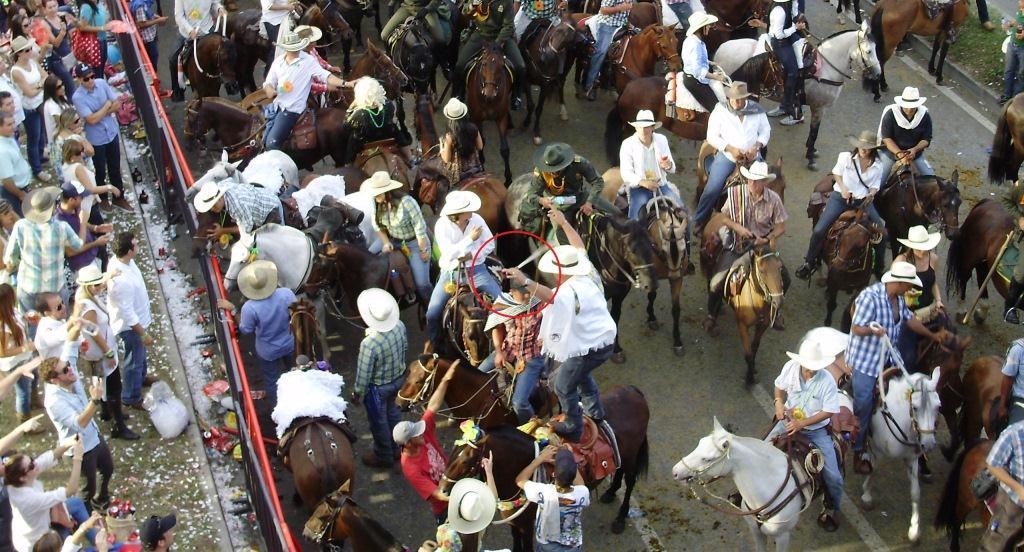 La cabalgata de la feria de las flores: el lunar negro para Medellín