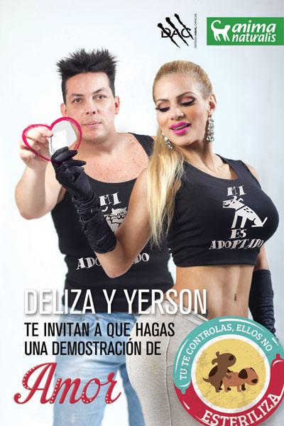 Deliza Rodriguez y Yerson Rivas invitan a una demostración de amor