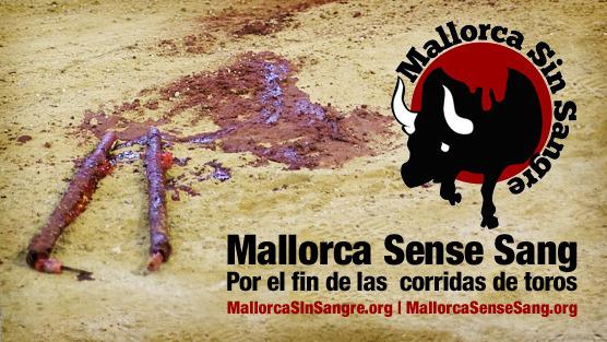 Apoyo masivo a la campaña Mallorca Sin Sangre