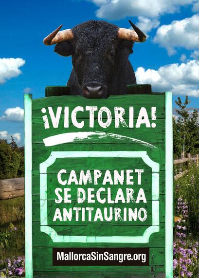 Campanet, nuevo municipio antitaurino en Mallorca
