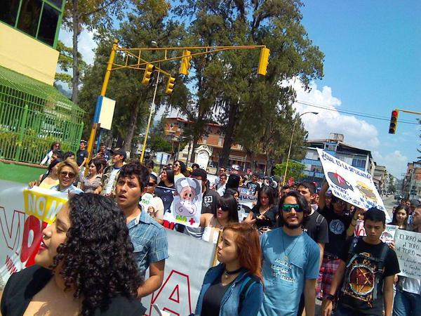 Toma de las calles de Mérida por unas Ferias Sin Crueldad