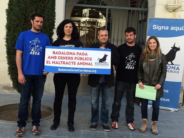 Los 'toros' de Badalona, financiados con dinero público