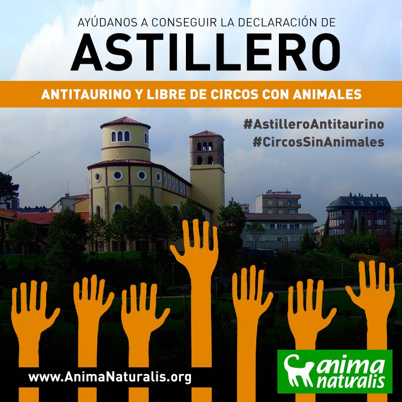 ¡Ayúdanos a que Astillero apruebe mociones para los animales!