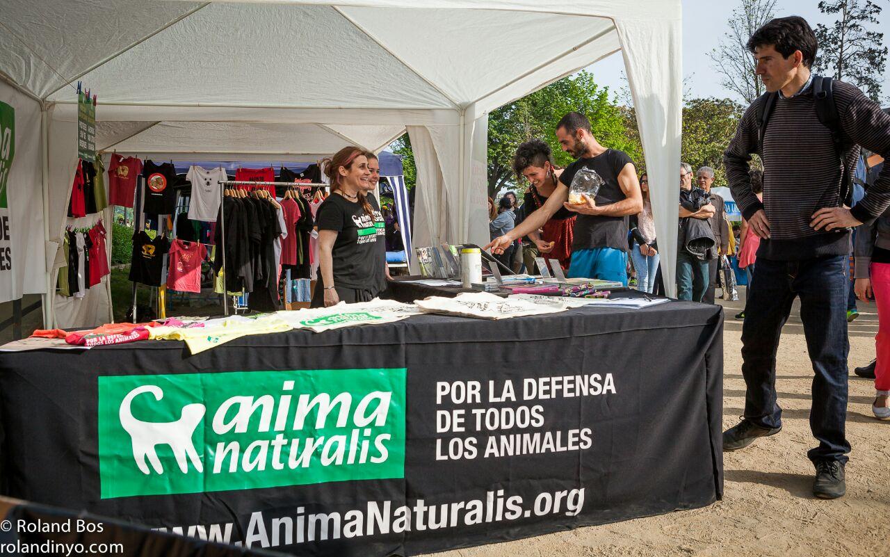 Participamos en la 20ª Fira per la Terra en Barcelona