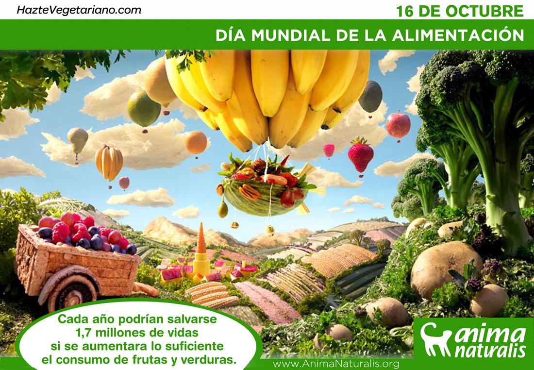 ONU recomienda una alimentación basada en vegetales para salvar el mundo