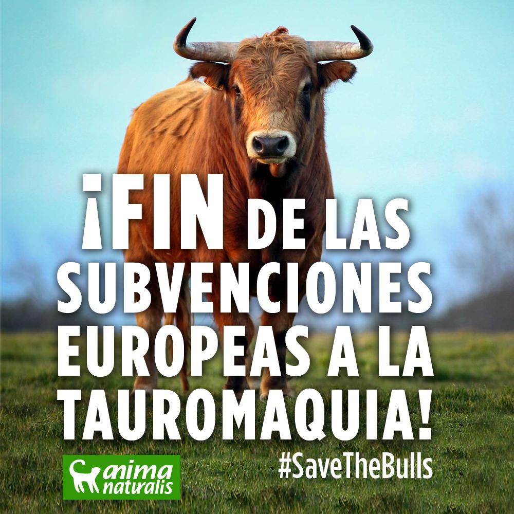 ¡Victoria histórica! ¡FIN de las  subvenciones  europeas a la  tauromaquia!