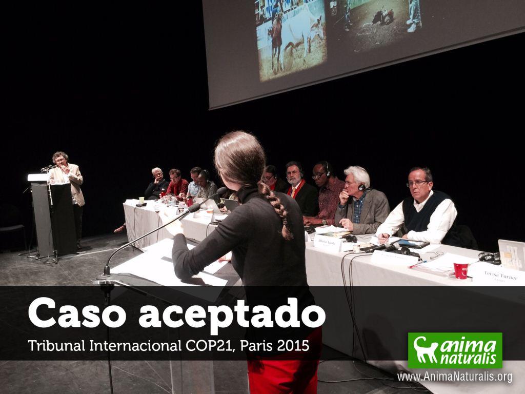 Tribunal Internacional COP21 acepta caso de crueldad en corralejas colombianas