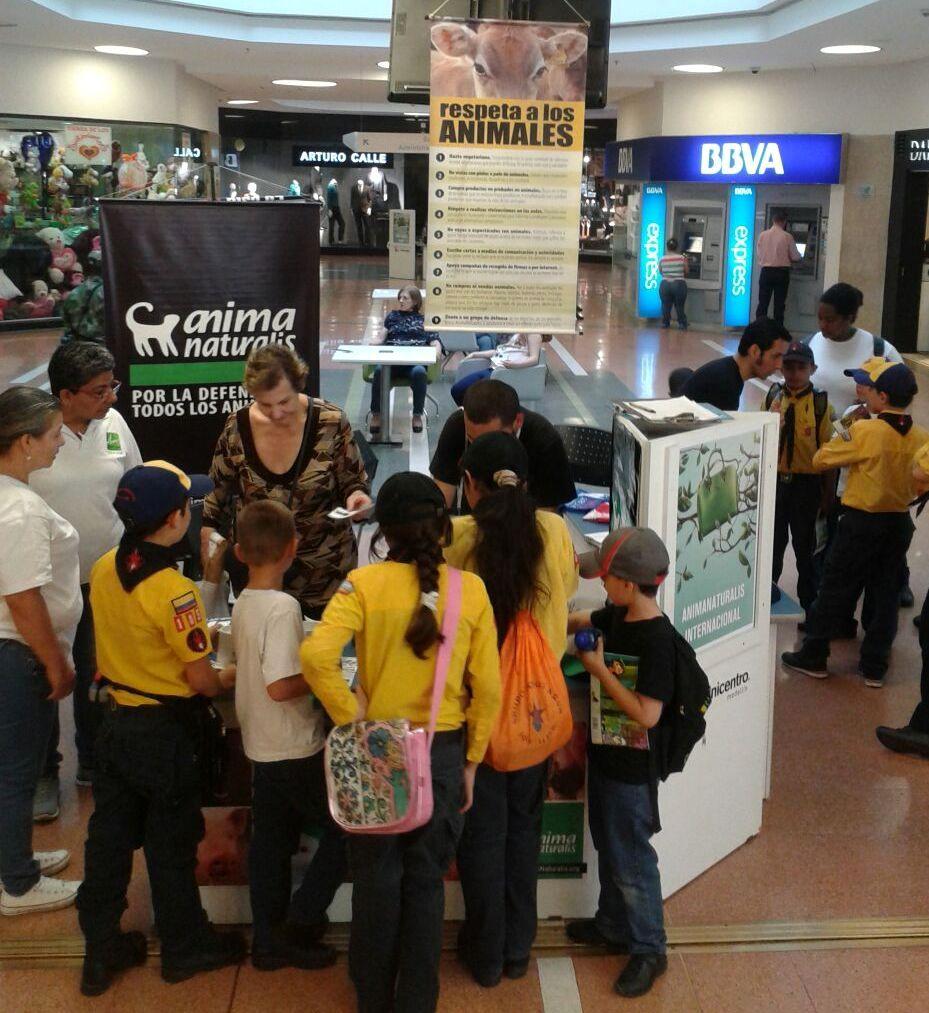 AnimaNaturalis participó en la Feria Ecológica y de la Sostenibilidad de Unicentro Medellín