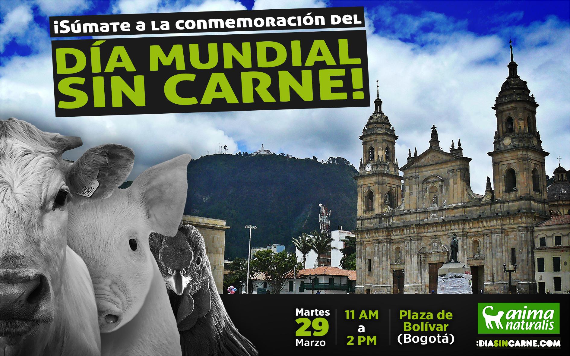 En 2016 ¡Súmate a la más grande puesta en escena con motivo del Día Mundial Sin Carne!