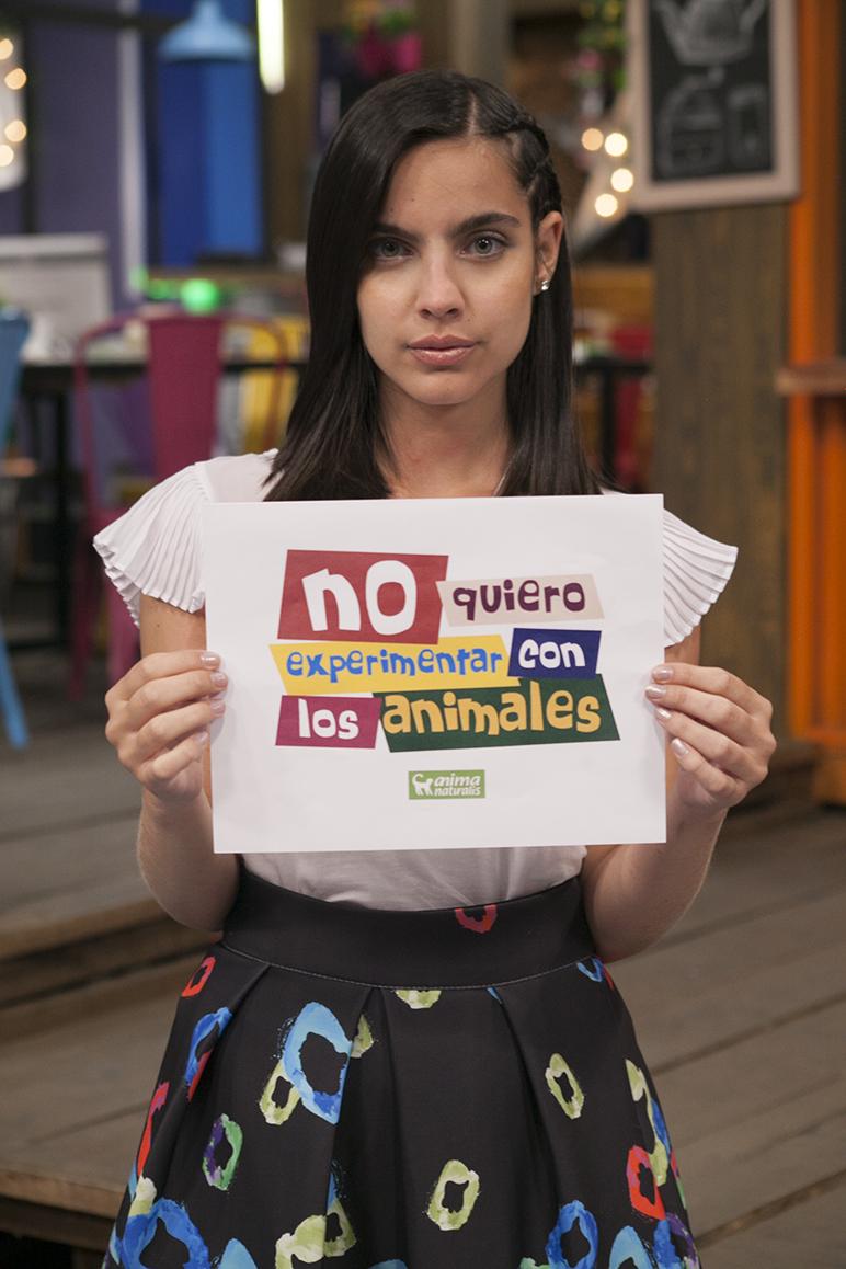 María Gabriela De Faría defiende a los animales en los laboratorios