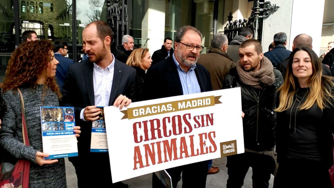 Madrid dice adiós a los circos con animales