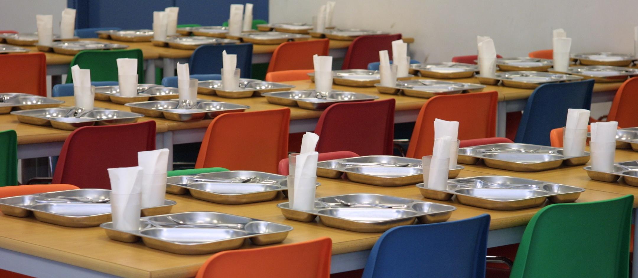 Menú vegetariano en las escuelas