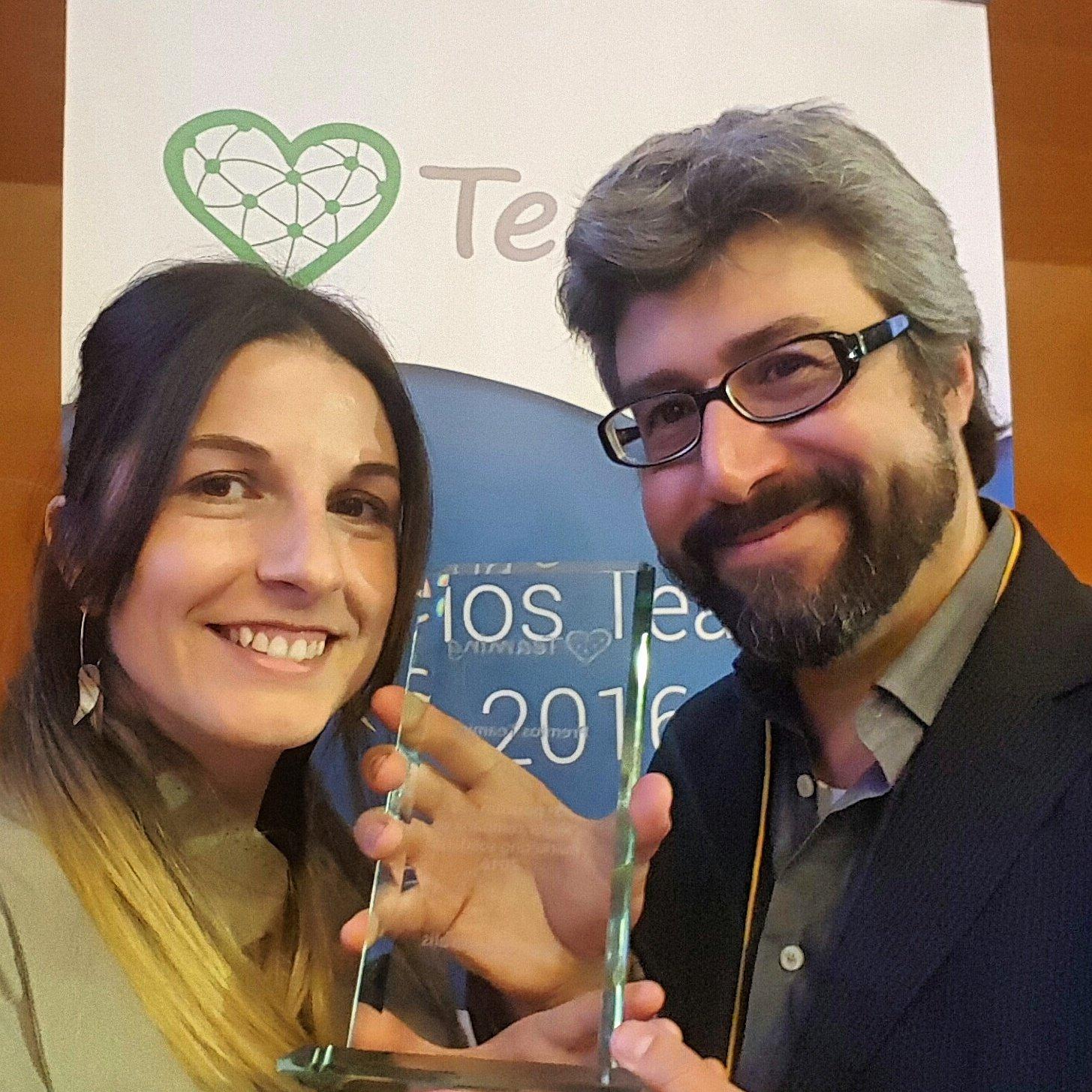 AnimaNaturalis recibe premio de Teaming como finalista en la Mejor Campaña Solidaria de 2016