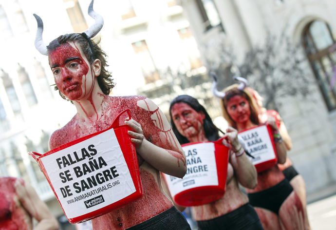 Esta es la sangre derramada cada día en la Plaza de Toros de Valencia