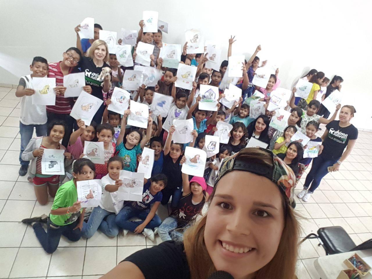 AnimaNaturalis participa en cursos de verano en Michoacán