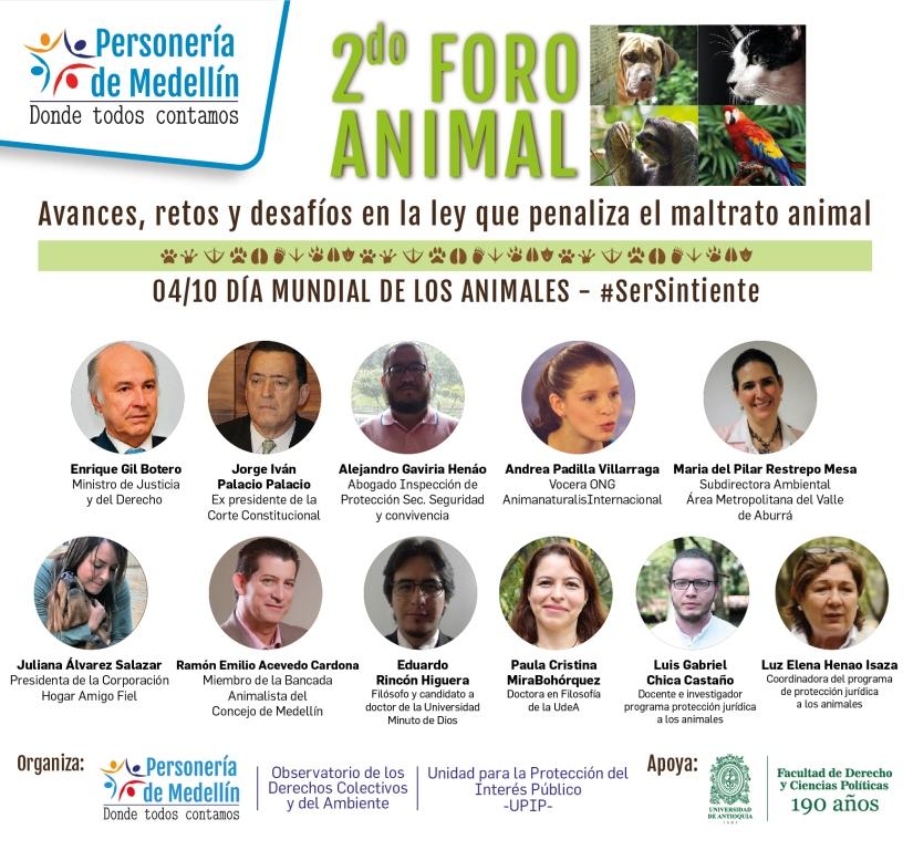 AnimaNaturalis participará en foro sobre ley que penaliza maltrato animal en Medellín