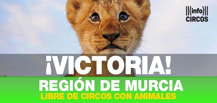 La Región de Murcia prohíbe los circos con animales salvajes
