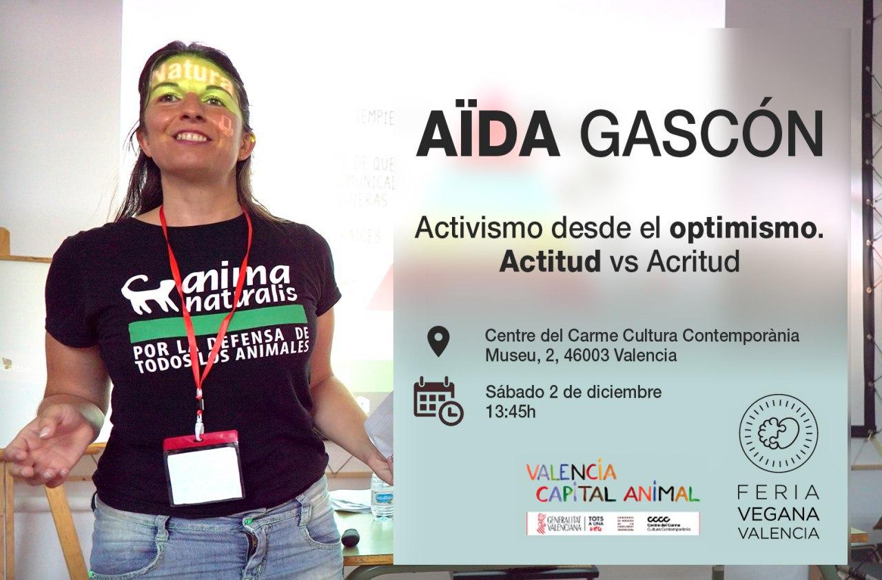 AnimaNaturalis estará presente en la III Feria Vegana de Valencia