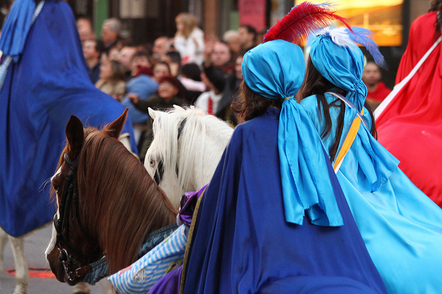 Apoya la decisión del Ayuntamiento de Terrassa: ¡Eliminan los caballos de las Cabalgatas de Reyes!