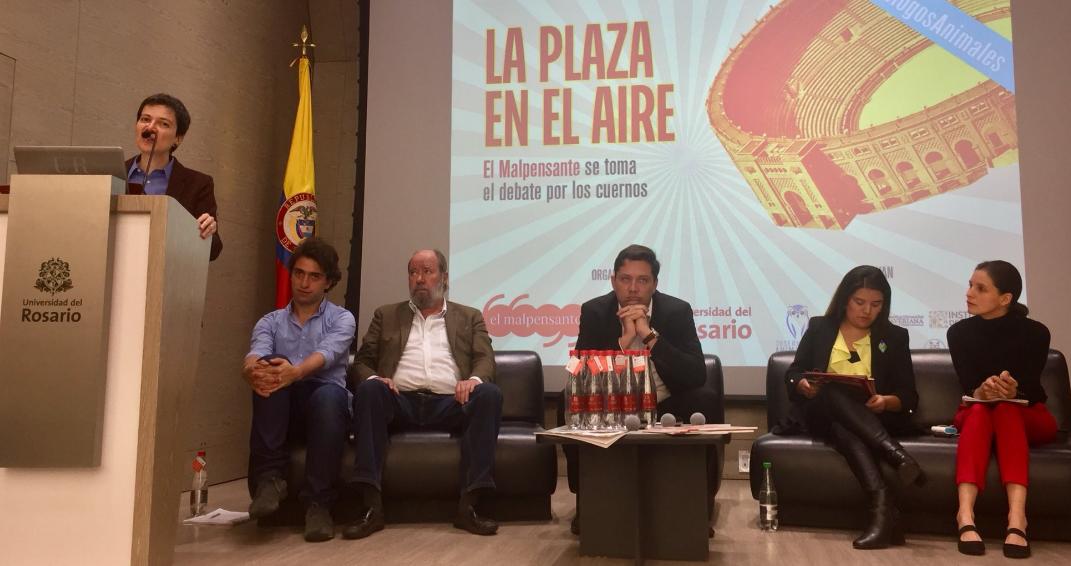 Participamos en el debate Plaza en el Aire organizado por El Mal Pensante
