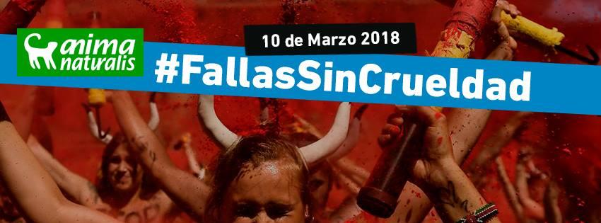 Acción Protesta por unas Fallas sin Crueldad