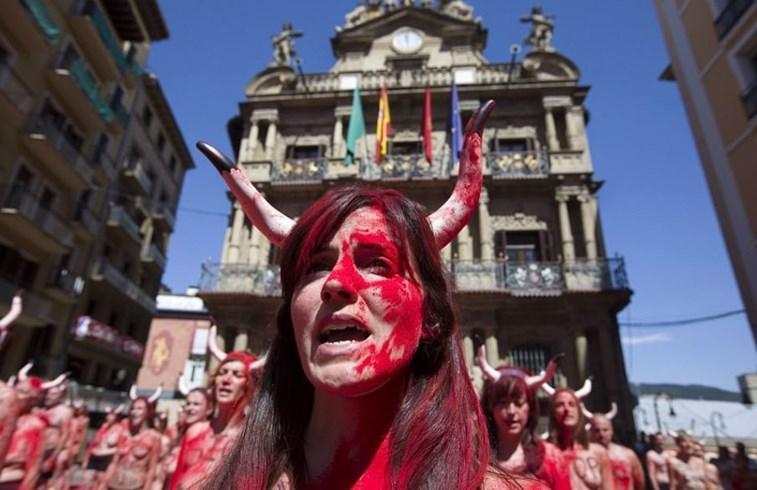 ¡Vamos a Pamplona a exigir el fin de las corridas de toros!