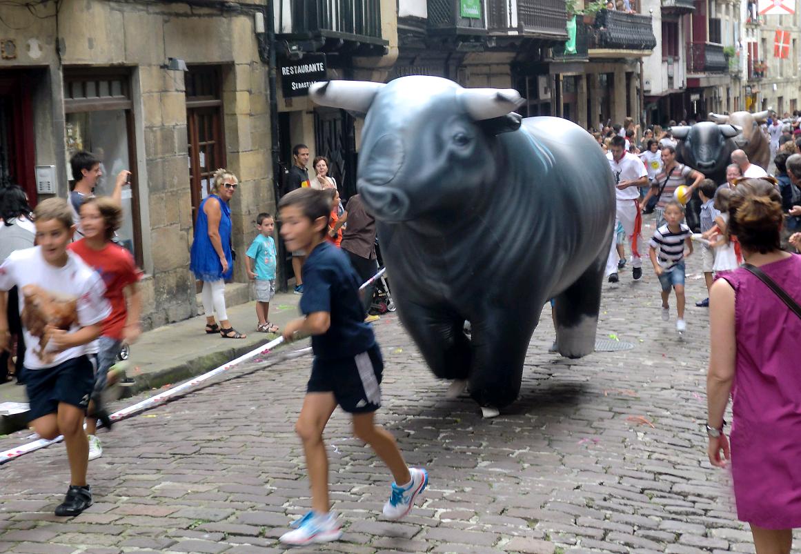 AnimaNaturalis se ofrece a organizar los Encierros de San Fermín, pero sin toros
