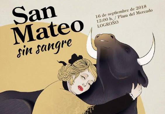 AnimaNaturalis prepara su protesta en Logroño por un San Mateo Sin Sangre